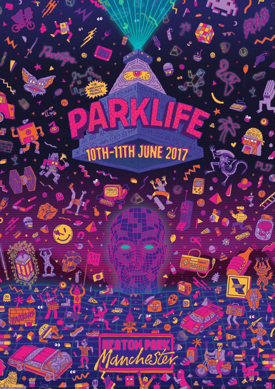 Parklife 2017 Campaign - Studio Moross