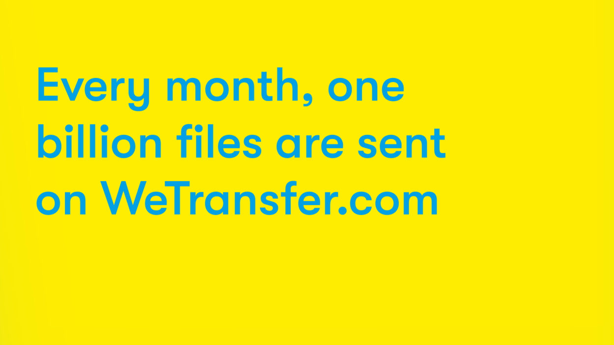 WeTransfer Campaign - Studio Moross